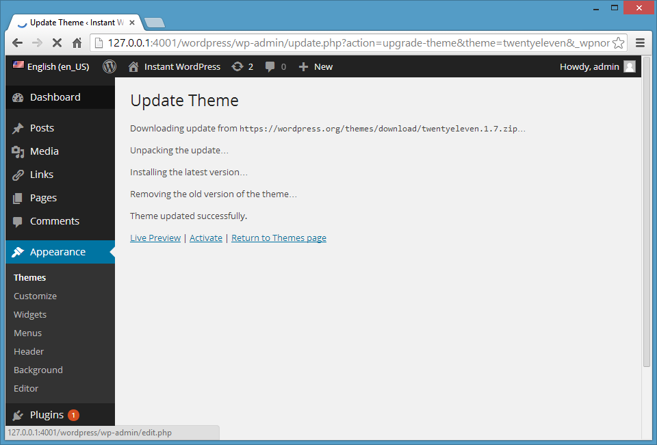 How to Install a Theme on Your WordPress Blog - Interserver Tips