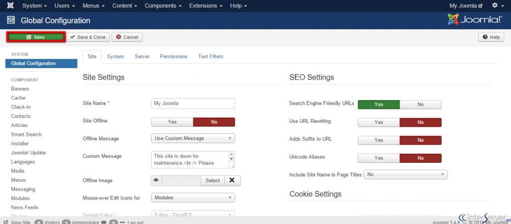 Search engine friendly urls in Joomla
