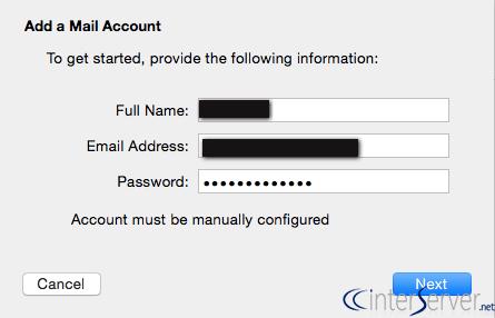 Mac mail settings