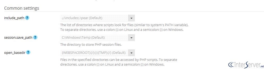 PHP open_basedir