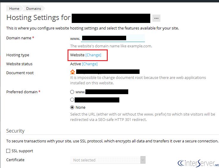 domain-redirect