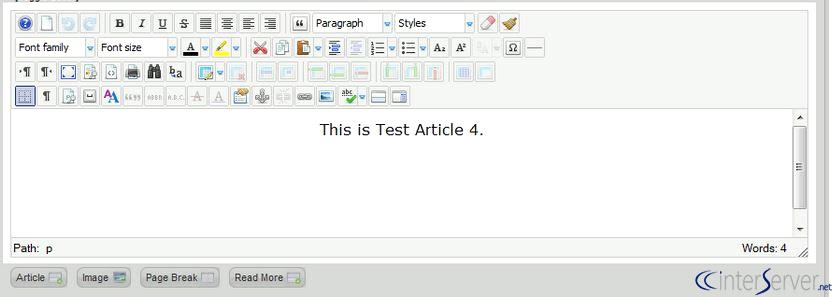 Default Editor