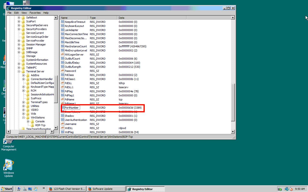 Change RDP port on Windows server - Interserver Tips
