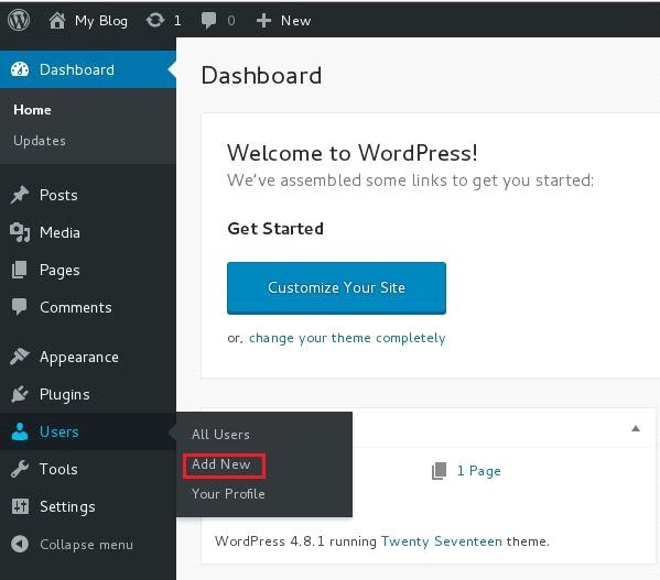 wordpress.org how to change username