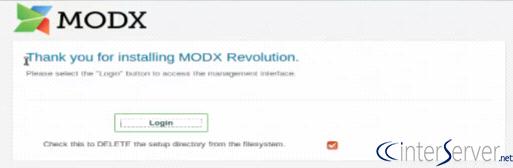 Install ModX