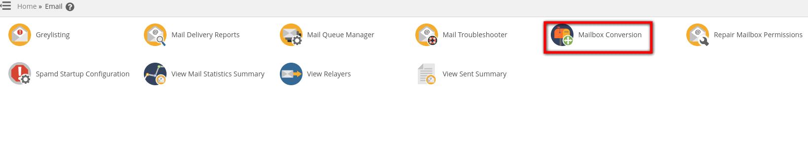 Mailbox Conversion