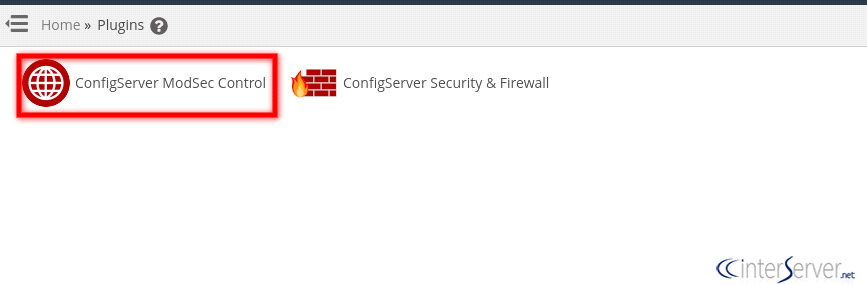 Disable ModSecurity Rule for cPanel User