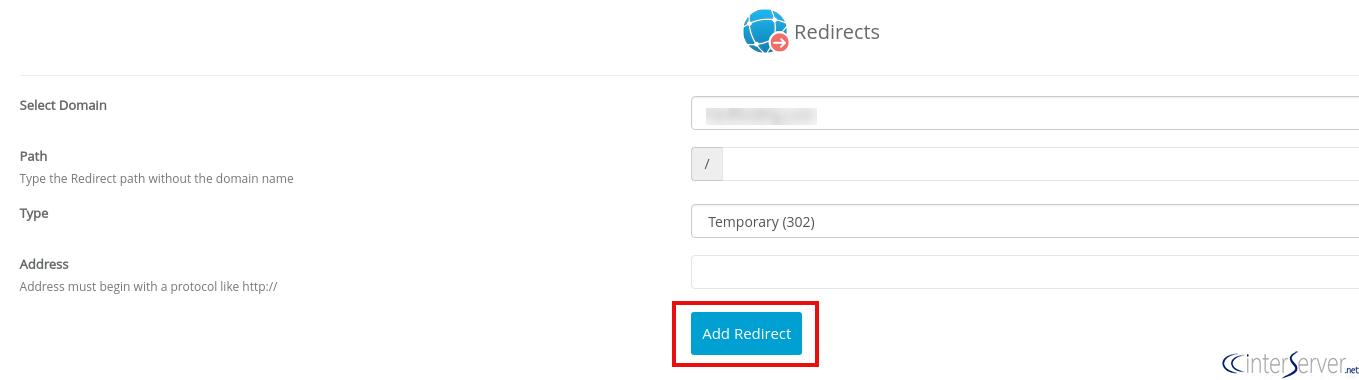 Domain redirection