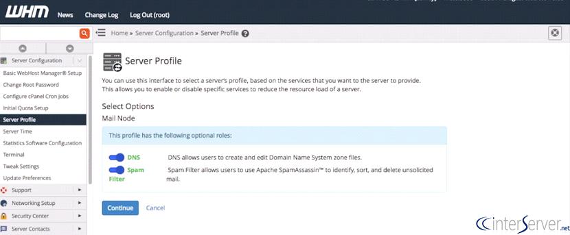 Server Profile